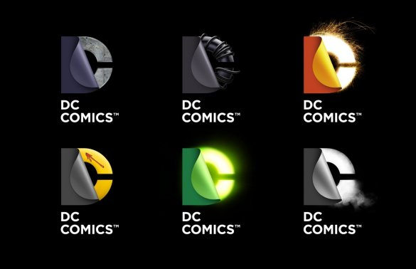 I Love Dc Comics : The new dc logo why i love it comics talking