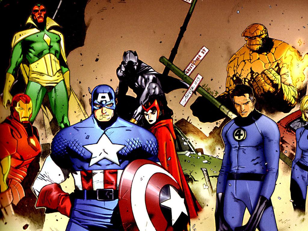 avengers meet fantastic 4