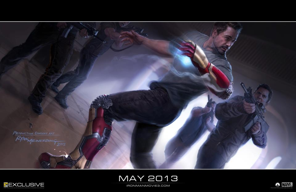 Iron Man 3 SDCC poster