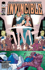 Invincible 95 cover