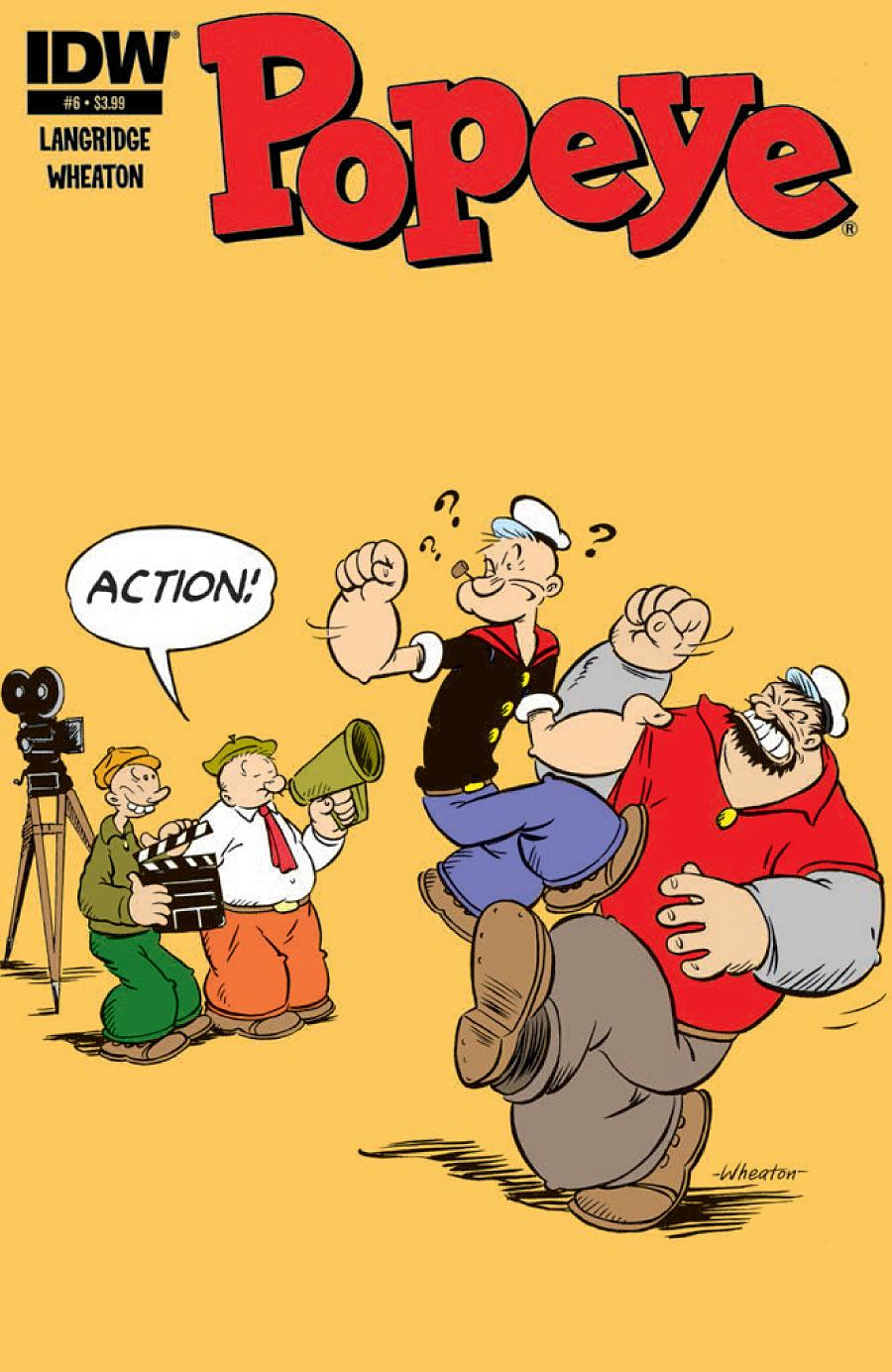 Popeye Comic Book