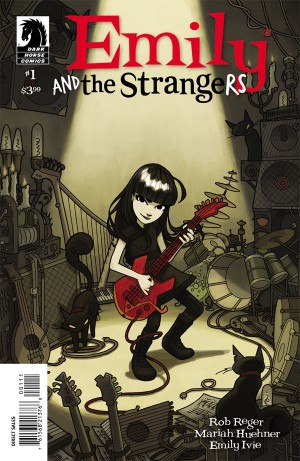 Look at how zorking B.A. this cover is! Emily the Strange For Prez!