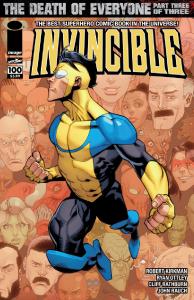 Invincible 100 Cover