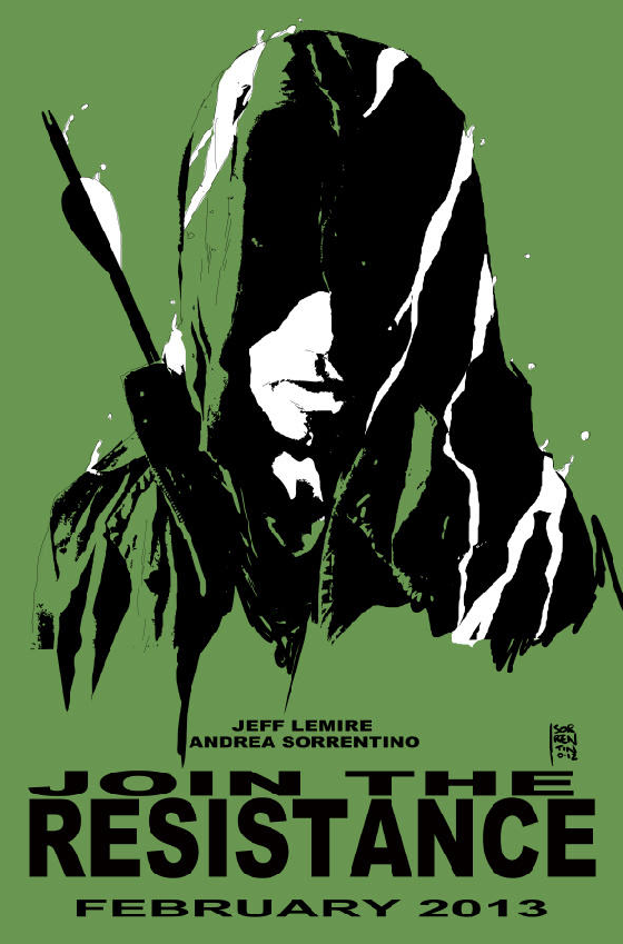 green arrow promo