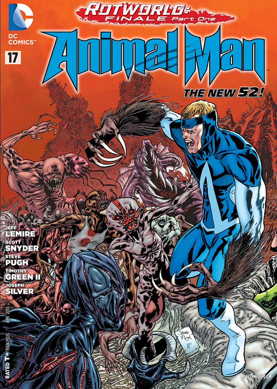 Animal Man 17