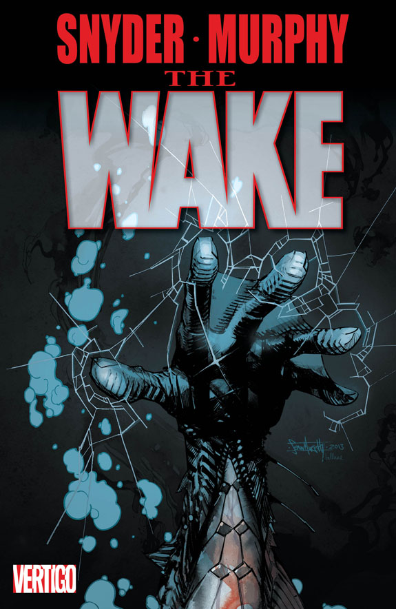 the wake