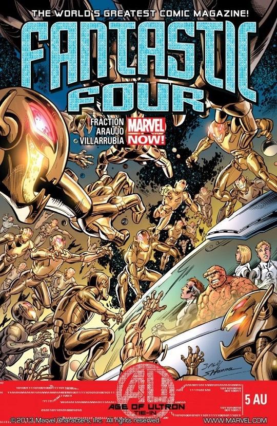 Fantastic Four 5AU