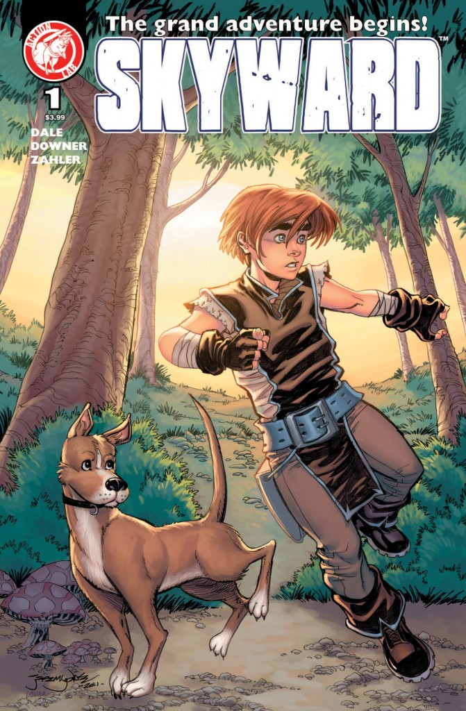 Swords! Boy hero! Rural Fantasy! Dogs! Yay!