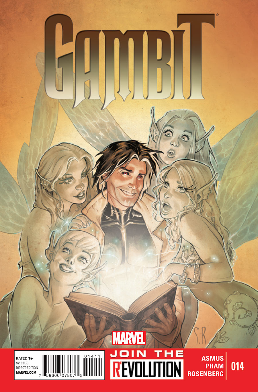 Yes, this is the cover to a Gambit comic.