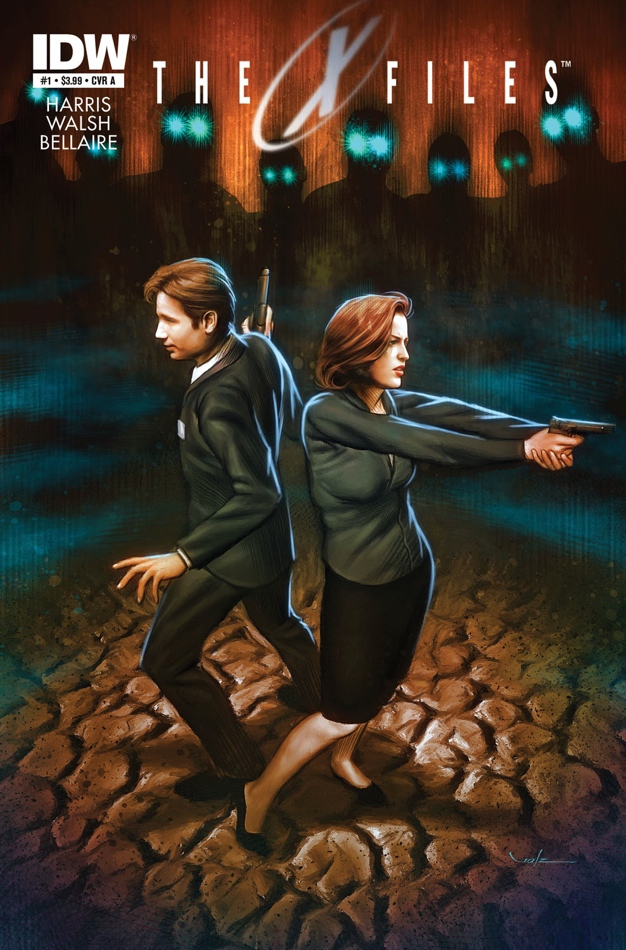 Fun fact: Chris Carter wanted to flip gender stereotypes with Agent Mulder and Scully. This is similarly demonstrated here, with Scully taking the offensive position!