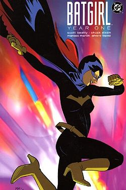 Batgirl Year One Cover