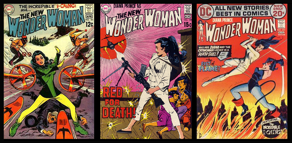 Martial Artist Wonder Woman