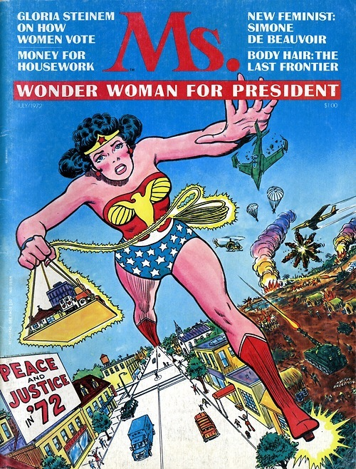 Wonder Woman Ms Magazine 1972