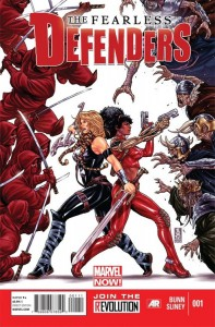 Fearless Defenders 1 Cover