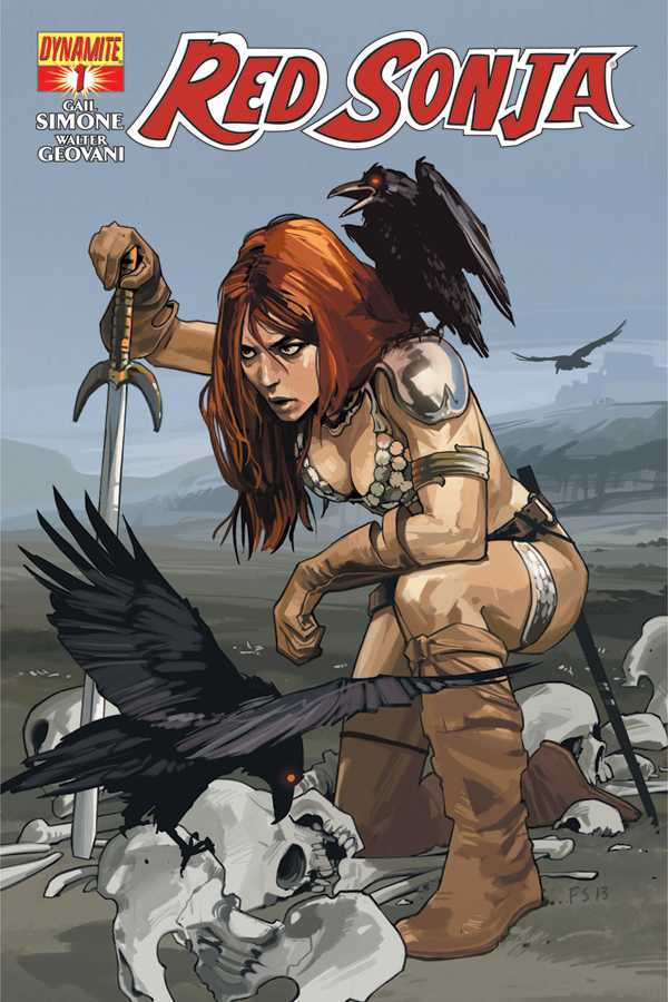 Red Sonja 1 Staples