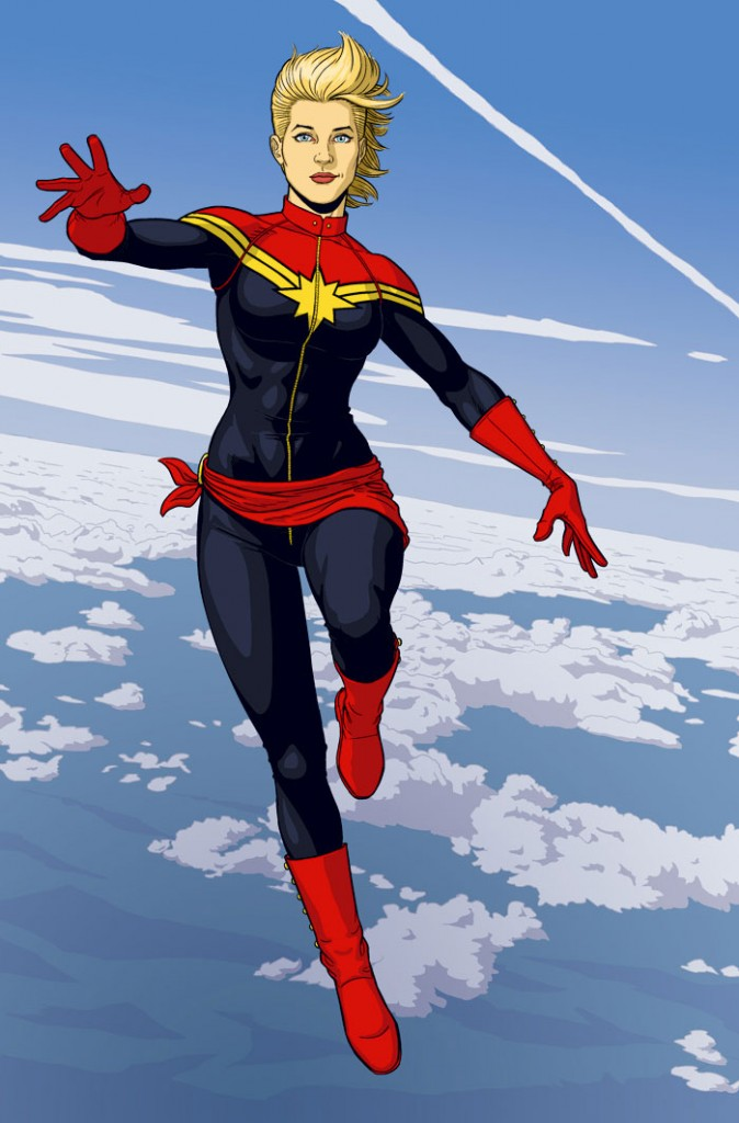 Captain Marvel Jaime McKelvie