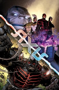 Avengers - X-men Axis #4 Cover