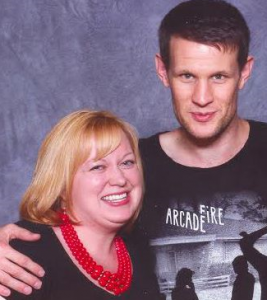 Photographic evidence of me meeting Matt Smith.
