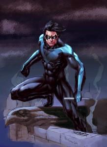 Dick Grayson, aka Nightwing.