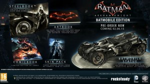 Batmobile Edition features.