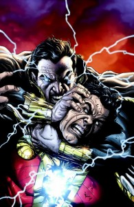 The Rock tweeted out this image of Black Adam from the comics with his announcement.