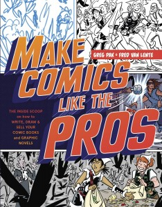 Make Comics Like the Pros cover