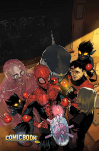 Spider-Man's new students try to make a good impression.