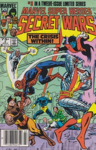 A cover from the original Secret Wars event.