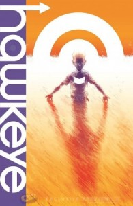 The cover of Hawkeye #1.