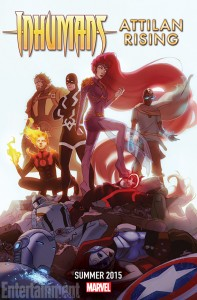 Attilan's rise seems to come at the cost of a fall for the X-Men and Avengers in the new series.