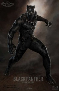 Concept art for Black Panther revealed at today's press event.