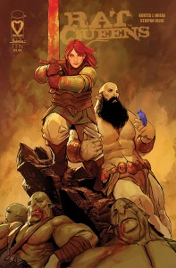 Rat Queens cover image with new artist Stjepan Sejic released by Image Comics.