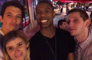 This selfie of the cast posted during filming is the closest thing to a FF movie promotional image I could find.