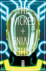 Jamie McKelvie's cover for The Wicked and The Divine #7.