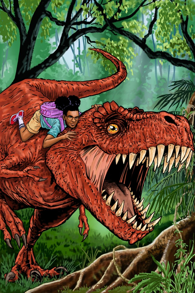 Moon Girl & Devil Dinosaur #5 by Pia Guerra