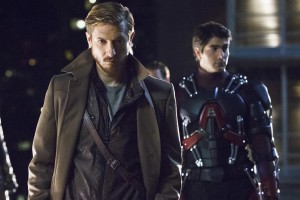 "DC's Legends of Tomorrow -- ""Pilot, Part 1"" -- Image LGN101d_0438b -- Pictured (L-R): Arthur Darvill as Rip Hunter and Brandon Routh as Ray Palmer/Atom -- Photo: Jeff Weddell/The CW -- © 2015 The CW Network, LLC. All Rights Reserved."