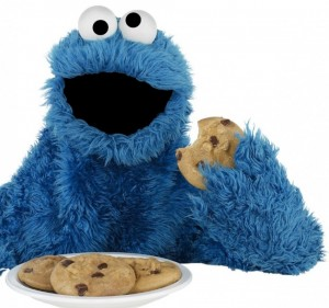 sesame street Cookie-Monster