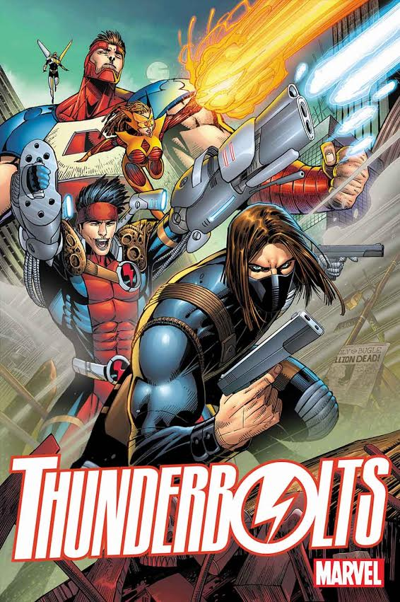 Jon Malin's cover for Thunderbolts #1