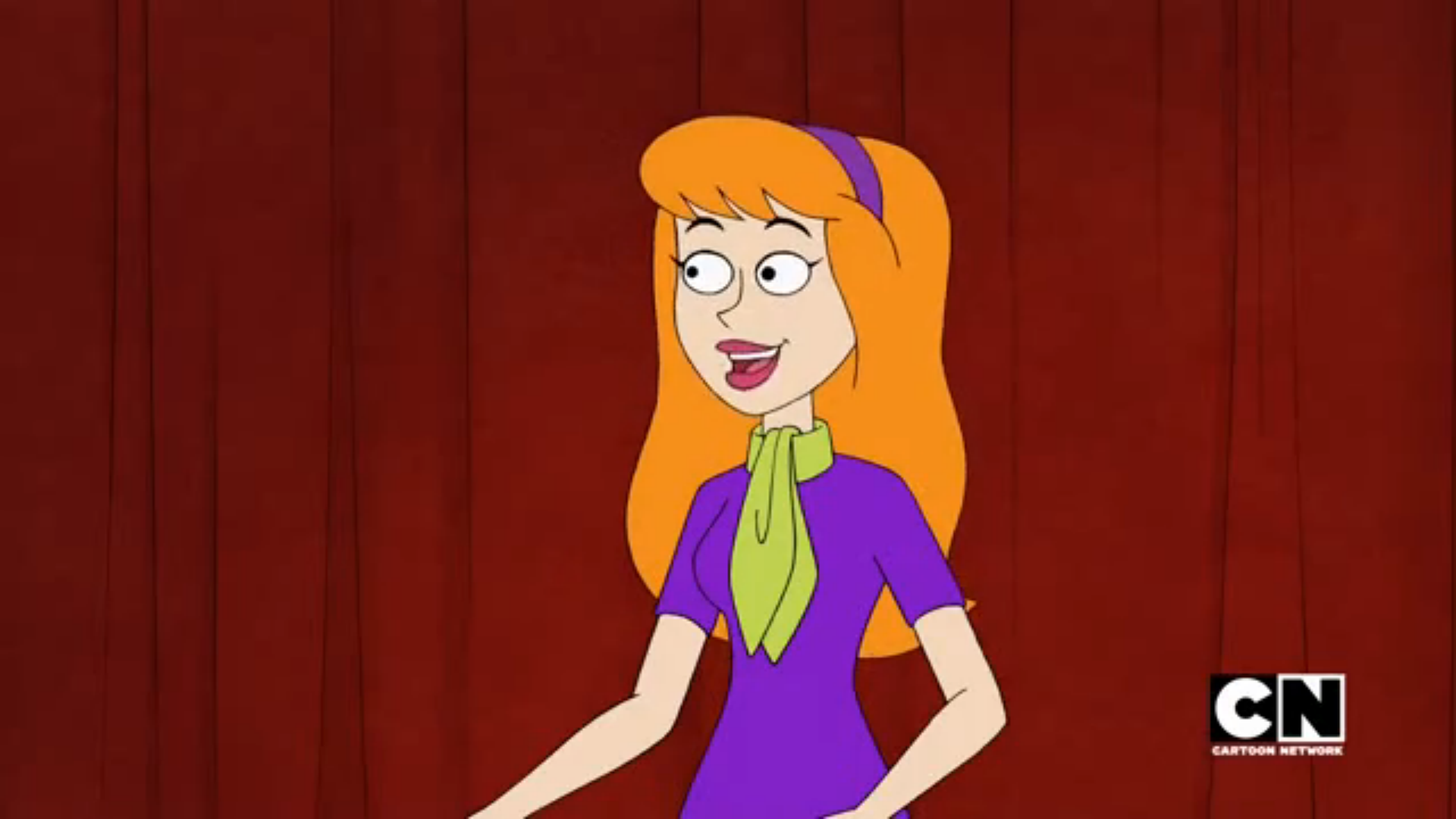 Daphne in Be Cool, Scooby Doo (2015-present)—the only show where the characters' looks differ somewhat from the original show.