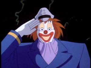 The Robotic Captain Clown in The Last laugh