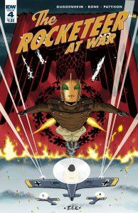 The Rocketeer At War #4