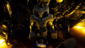 Steppenwolf appeared within a deleted scene for Batman V Superman - leading to speculation of his involvement in Justice League Parts 1 and 2.