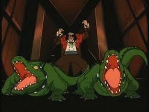 The Sewer-King's Crocodiles demonstrate the episodes focus on Urban Legends