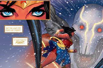 The Legend of Wonder Woman Art