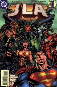 JLA #1: the Return of the Classic Lineup