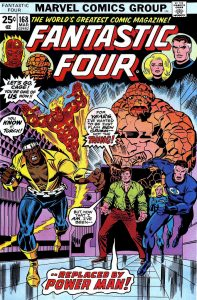 Replacing the Thing in the Fantastic Four