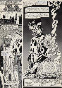 Michael Golden art from Doctor Strange: Master of the Mystic Arts #55