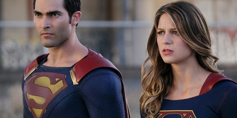 "Supergirl -- ""The Last Children of Krypton"" -- Image SPG202a_0174-- Pictured (L-R): Tyler Hoechlin as Clark/Superman and Melissa Benoist Kara/Supergirl -- Photo: Robert Falconer/The CW -- © 2016 The CW Network, LLC. All Rights Reserved"