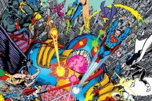 The Last Stand of the DC Multiverse: Crisis on Infinite Earths #12