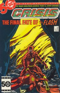 The fate of the Flash revealed: Crisis on Infinite Earths #8